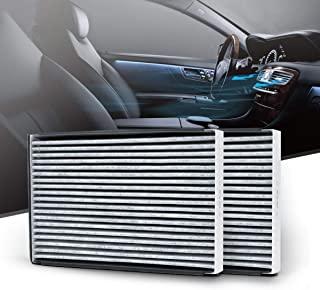 KAFEEK Cabin Air Filter Fits CF8392A, 10261703, 10340216, 15284938, Replacement for Chevrolet/Pontiac/Buick/Oldsmobile Selected Models, includes Activated Carbon (2-Pack)