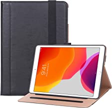 ProCase iPad 10.2 Case 2019 7th Generation iPad Case, Protective Cover Stand Folio Case for iPad 10.2 Inch 7th Generation 2019 –Black