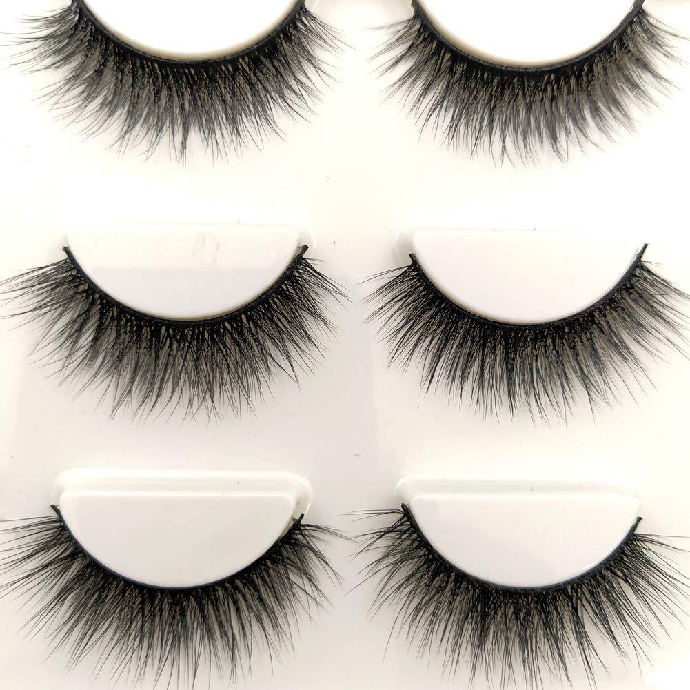 Nashville-Davidson Mall Sunniess Cheap sale Hair Imported Fiber 3D Mink Eye R False lashes Handmade