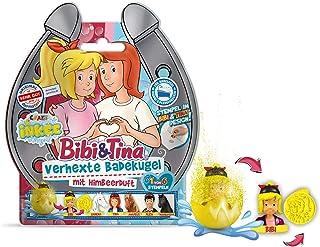 CRAZE Fun Bibi&Tina INKEE sześciokątna kula do kąpieli z niespodzianką BIBI i Tina 12468, wielokolorowa