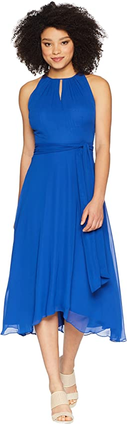 Tahari by ASL Sleeveless Keyhole Shift Dress