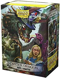 Dragon Shield Sleeves - Limited Edition Matte Art: Easter Dragon 2021 100 CT – MGT Card Sleeves are Smooth & Tough – Compa...