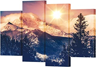 Best mountain sunrise painting Reviews
