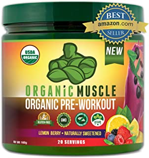 pre workout fat burner by Organic Muscle