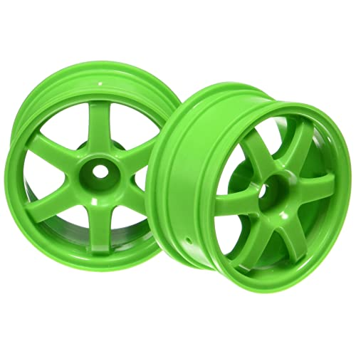 Traxxas 7374A Green Volk Racing TE37 Wheels (pair)