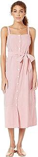 Michael Stars womens Raina Stripe Button Front Dress Dress