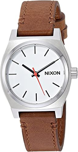 Nixon Medium Time Teller Leather