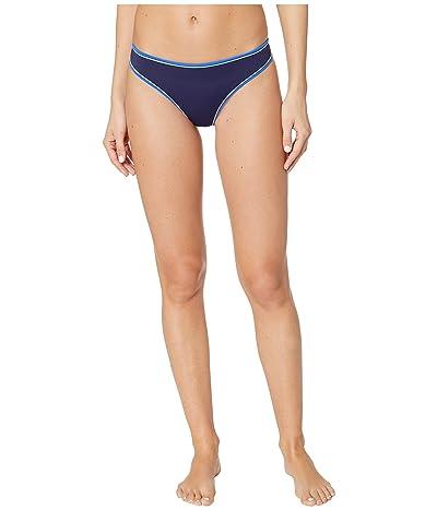 Stella McCartney Contrast Trim Classic Bikini (Dark Blue) Women