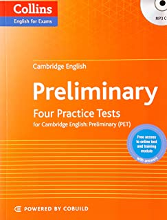 Four Practice Tests for Cambridge English: Preliminary (PET)