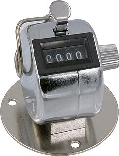 4 位机械计数器/点击计数器,手持式可拆卸底座和手指环