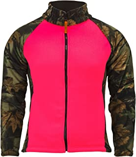 TrailCrest Women's Semi-Fitted Full Zip Camo Jacket