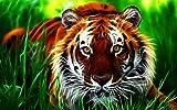 3D tigre juego