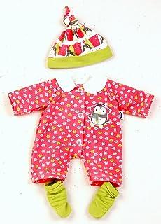 Schildkröt Puppen Kleidung Overall Strampler Mütze für 32 cm Babypuppen 32624