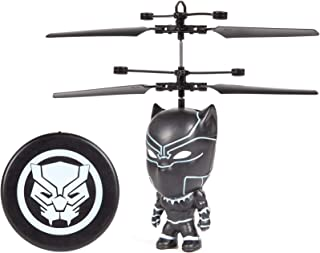 Black Panther 3.5 Inch Flying Figure IR UFO Big Head Remote Control Marvel Helicopter …