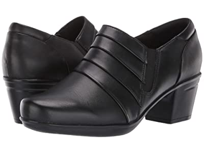 Clarks Emslie Guide (Black Leather) Women