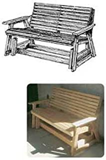 Woodworking Project Paper Plan to Build Glider Bench