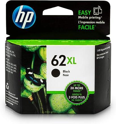 HP 62XL Black Ink Cartridge (C2P05AN) for HP ENVY 5540 5541 5542 5543 5544 5545 5547 5548 5549 5640 5642 5643 5644 5660 5661 5663 5664 5665 7640 7643 7644 7645 HP Officejet 200 250 258 5740 5741