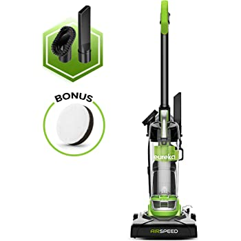 EUREKA Airspeed Ultra-Lightweight Compact Bagless Upright Vacuum Cleaner, Replacement Filter, green