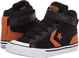 14431279f34da Converse kids pro blaze strap leather and suede hi little kid big ...