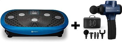 new arrival LifePro Rumblex Plus 4D Vibration Plate Exercise Machine & Sonic Handheld Percussion Massage Gun online sale - Deep Tissue Massager for Sore Muscle and outlet sale Stiffness sale