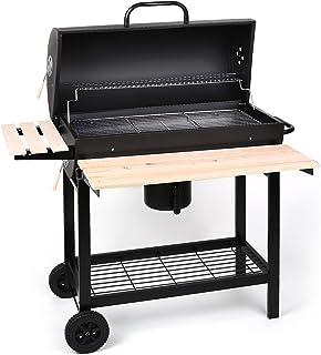 comprar comparacion Oneconcept Beefbutler Smoke Edition - Parrilla de carbón con ahumador, Barbacoa, BBQ, Grill, Asador Directo o indirecto, R...