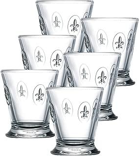 La Rochere Set Of 6, 9-ounce Fleur De Lys Tumblers