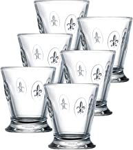La Rochere Set Of 6, 9-ounce Fleur De Lys Tumblers