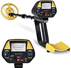 INTEY Metal Detector - Sensitivity & Volume Adjustable, Waterproof Coil (30.7-42.5 in), Metal Detector with Pinpointer & DISC Mode for Detecting Gold, Silver, Beach Treasures, for Gift