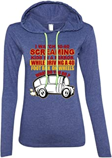 I Watch 40-60 Screaming Kids in A Mirror While Driving T Shirt, Become A Driver T Shirt