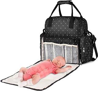 Large Diaper Bag Multi-Function Baby Travel Backpack Nappy Tote Maternity Diaper Shoulder Bag