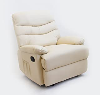 comprar comparacion Astan Hogar Sillón Relax con Reclinación Manual, Masaje Y Termoterapia. Modelo Roma AH-AR30200CR, Crema,