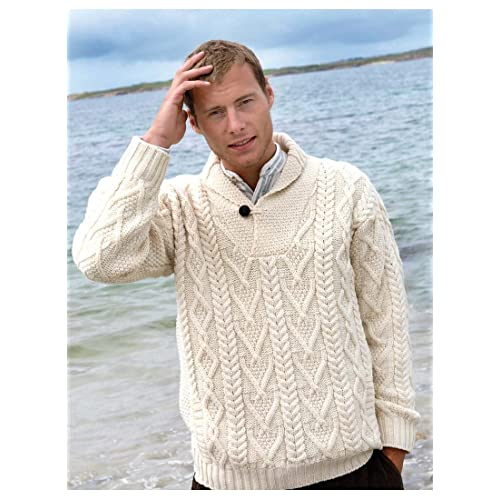 699998f34c4f Men s Fisherman Sweater  Amazon.com
