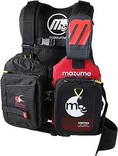 MAZUME(マズメ) レッドムーンライフジャケットVIII MZLJ-401-01 ブラック F