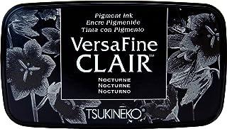Tsukineko VF-CLA-351 Nocturne Versafine Clair d'encrage, matière synthétique, Noir, 5.6 x 9.7 x 2.3 cm, Matériau, 5,6 x 9,...