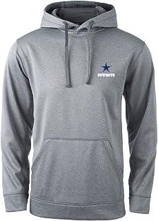 NFL Dallas Cowboys Champion Tech Fleece Hoodie, Heather Grey, Medium