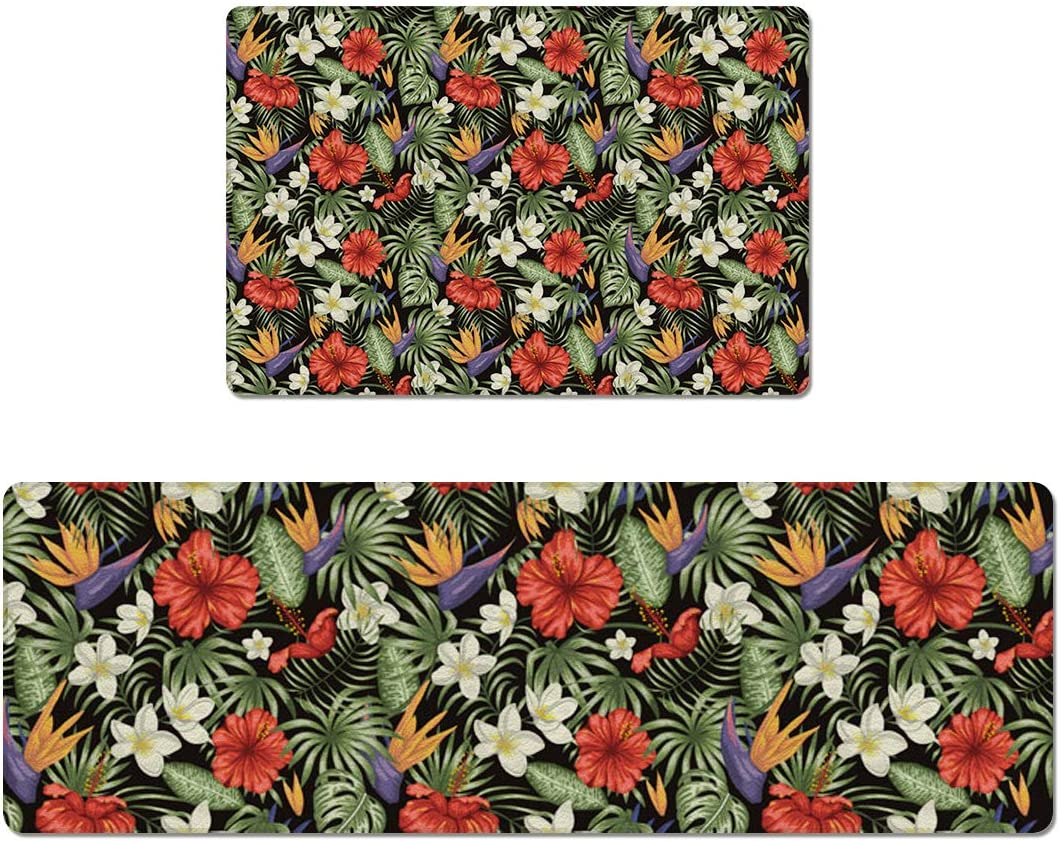 OUR WINGS Kitchen Rug Ranking integrated 1st place Absorbent Doormat Jacksonville Mall Anti-Fatigue Mat