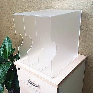 Nai-storage Acrílico Estante de Almacenamiento de Discos de Vinilo de 12 Pulgadas, Soporte de exhibición de CD de Dormitor...