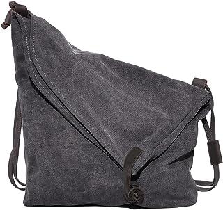 Coofit Adult Crossbody Bag, Messenger Bag Casual Canvas Hobo Bag Shouder Bag Large Multicoloured