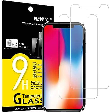 9H H/ärte Panzerglasfolie Displayschutz f/ür iPhone XS//iPhone X 2 St/ück Anti-Kratzen Conber Panzerglas Schutzfolie f/ür iPhone XS//iPhone X, Anti-Bl/äschen Anti-/Öl