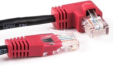 Cable RJ45Cable de conexión Ethernet LAN Internet en forma de L en ángulo–Cable patch cable 6ft