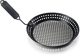 Outset 76163 Non-Stick Grill Skillet, Removable Handle