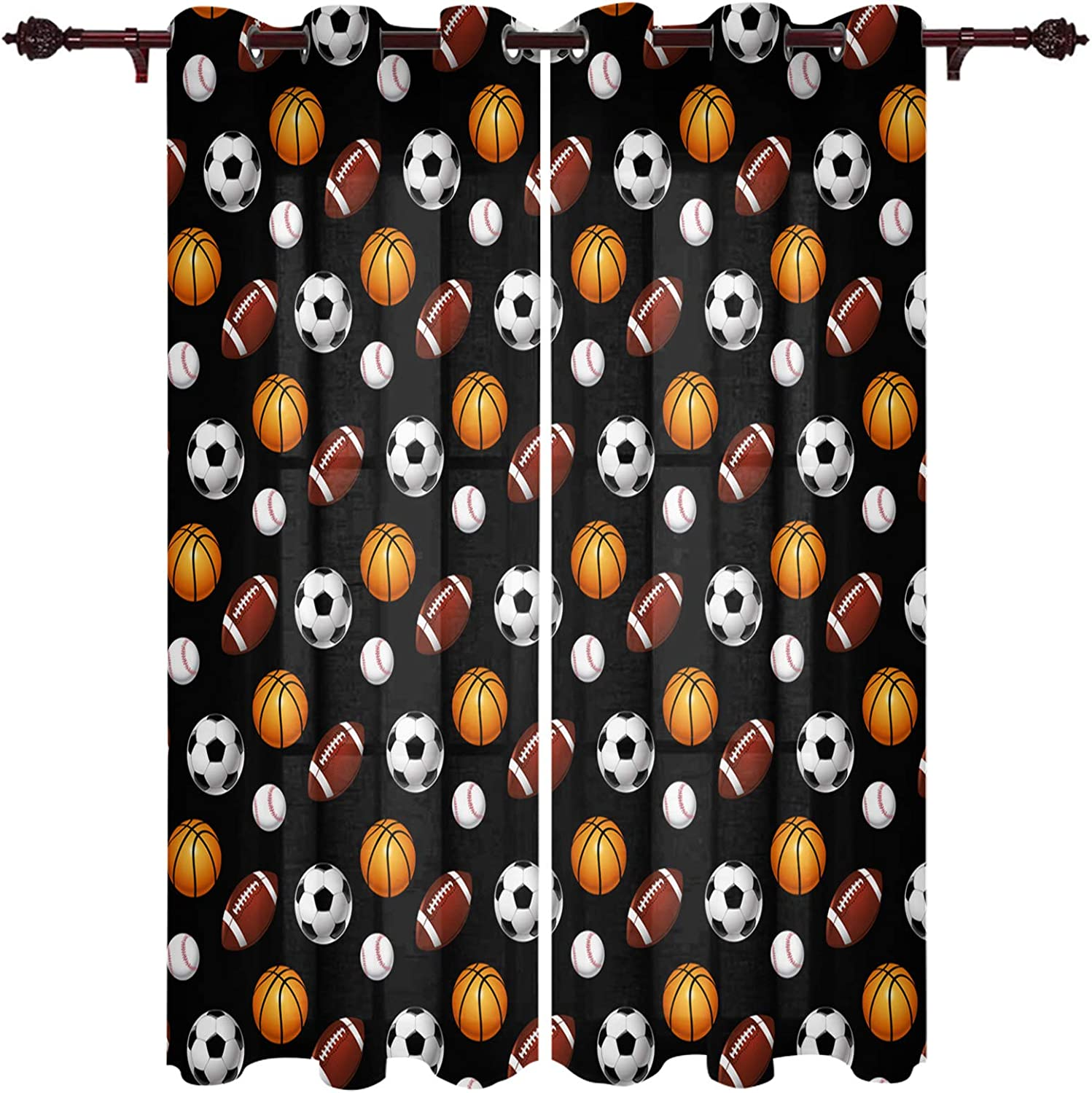 EZON-CH Window Treatments Grommet Piece Curtain Panels Cash special price Animer and price revision 2