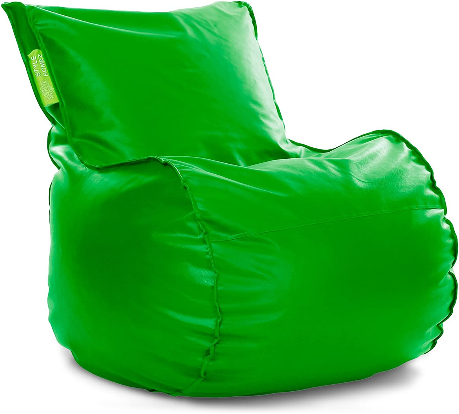 Style Homez Mambo Bean Bag XXL Size Parred Green Cover Only