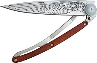 Deejo 388907 Taschenmesser Naked 15g Tattoo Tree Messer Silber