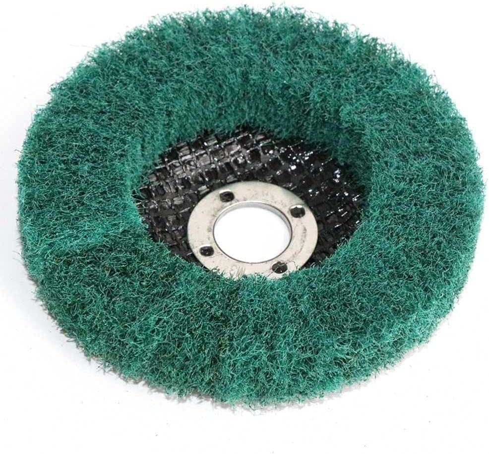 5 5% OFF inch 125mmX22mm Nylon Fiber Wheel Non-woven El Paso Mall Grinding Polishing