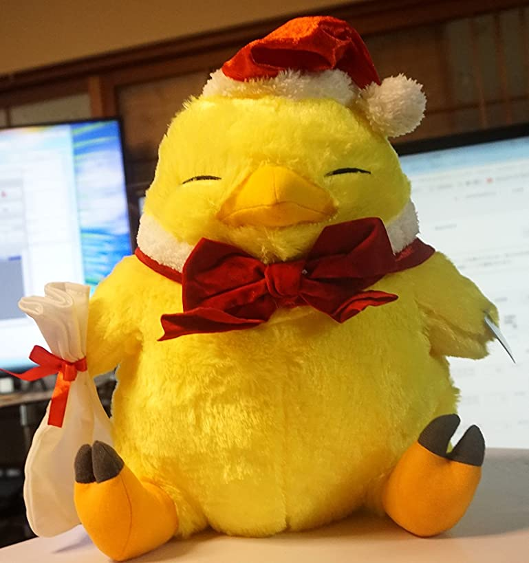 Final Fantasy XIV Online Christmas Fat Chocobo 13