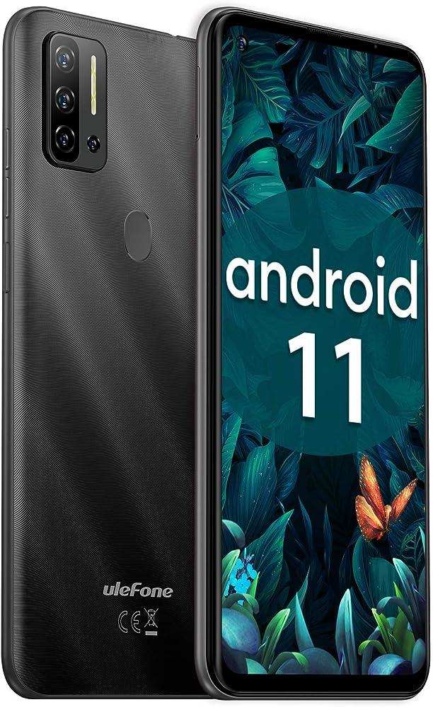 Ulefone, smartphone android 11, 4g, 8gb piu`128gb 48mp, dual sim,  camera 6,55 pollici Ulefone Note 11P