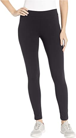 Wide Waistband Blackout Cotton Leggings