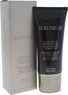 Laura Mercier Silk Creme Moisturizing Photo Edition Face Foundation - Ivory, 1 Oz., 30ml/1oz