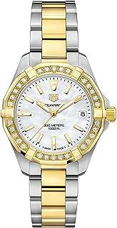 TAG Heuer - Aquaracer Reloj de diamante para mujer con esfera de perla WBD1321.BB0320